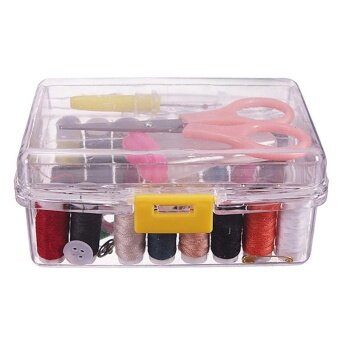 Hand Sewing Needle and Thread Embroidery Sewing Box Sewing Kit Color: random color - intl
