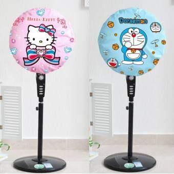 น่ารักฝาครอบพัดลมที่คลุมพัดลม Hello Kitty ผ้าคลุมกันฝุ่นพัดลมกริ๊งห้องนอนเครื่องทำความร้อนปก