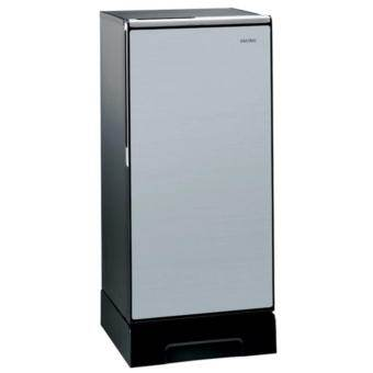 Hitachi ตู้เย็น 1 ประตู พร้อมชั้นวางกระจกแก้วนิรภัย รุ่น R-64V4 ขนาด 6.6คิว (สีซิลเวอร์)-