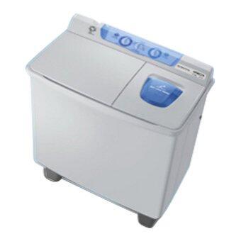 Hitachi เครื่องซักผ้า2ถังฝาบน - รุ่น PS-100 LJ สีฟ้า