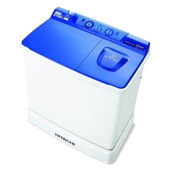 Hitachi เครื่องซักผ้าสองถัง - รุ่น PS-105 LSJ สีน้ำเงินเข้ม