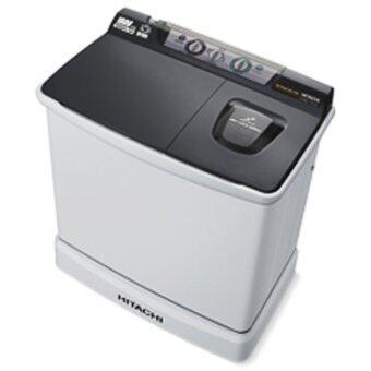 Hitachi เครื่องซักผ้าสองถัง - รุ่น PS-115 LSJ สีเทาเข้ม