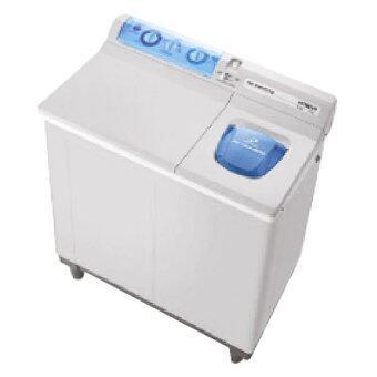 Hitachi เครื่องซักผ้าสองถัง - รุ่นPS-80 LJ สีเทา