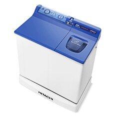 โปรโมชั่น Hitachi เครื่องซักผ้าสองถัง รุ่น Ps 85 Lsj สีน้ำเงินเข้ม
