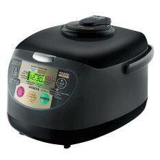 ราคา Hitachi หม้อหุงข้าว รุ่น Rz Xmc18 Obk 1 8 ลิตร สีดำ เป็นต้นฉบับ