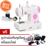 ขาย Hot Item Diy Sewing Machine จักรเย็บผ้าไฟฟ้า รุ่น 2 ระดับ แบบพกพา สีชมพู แถมฟรี อุปกรณ์เสริมชุดใหญ่พร้อมอะไหล่ Hot Item ออนไลน์