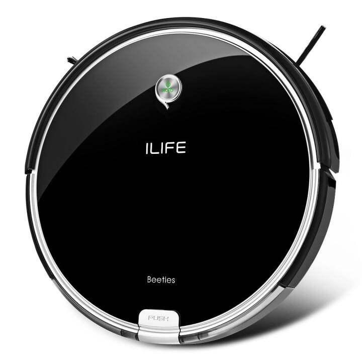 ILIFE A6 Smart Robotic Vacuum Cleaner Cordless Sweeping Cleaning Machine Self-recharging Robot(EU