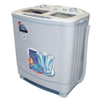 Imarflex เครื่องซักผ้า 2 ถัง รุ่น WM772 ขนาด 7.2 kg. (สีเทา)
