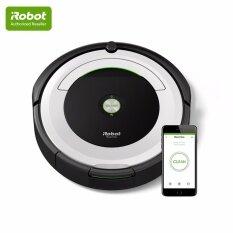 ซื้อ Irobot หุ่นยนต์ดูดฝุ่น รุ่น Roomba® 690 Light Silver ใหม่ล่าสุด