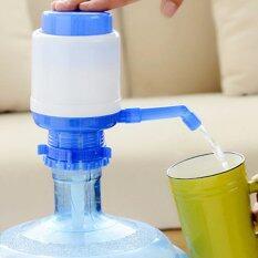 Jj ที่ปั๊มน้ำดื่มแบบมือกด Drinking Water Pump แบบสั้น Blue เป็นต้นฉบับ