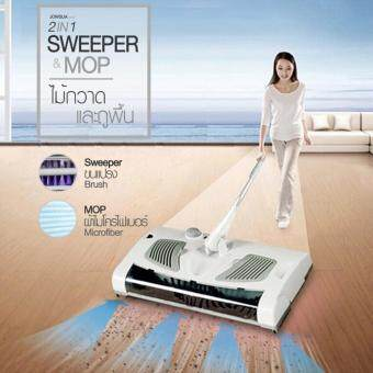 JOWSUA ไม้กวาดและถูพื้น Cordless Mop and Auto Sweeper 2-in-1