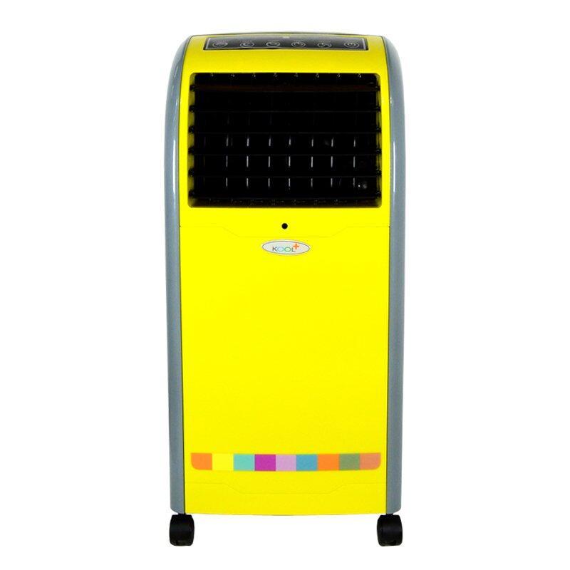 การดู KOOL+ พัดลมไอเย็น แบบปุ่มสัมผัส พร้อมรีโมทคอนโทรล รุ่น AB-605 (สีเหลือง/เทา) แถมฟรี Cooling Pack 2 ชิ้น จะซื้อยี่ห้อไหนดี