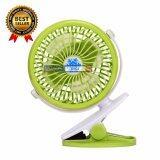 ราคา Lilry Shop Usb Clip Fan พัดลมหนีบ ขอบประตู รถเข็นเด็ก ชาร์จได้ ใส่ถ่านได้ ปรับหมุนได้ 360 องศา ใหม่ ถูก