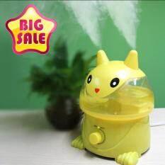 Little Cat Humidifier เครื่องฟอกอากาศ เพิ่มความชื้นในอากาศ รุ่น แมวเหลือง 3 5L เป็นต้นฉบับ