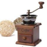 ขาย Lov เครื่องบดเมล็ดกาแฟ เครื่องบดกาแฟ Coffee Grinder แบบมือหมุน สแตนเลส กล่องไม้คลาสสิค Lov เป็นต้นฉบับ