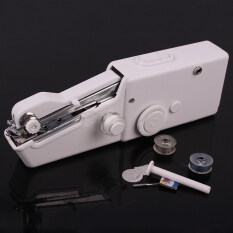 Mini Home Travel Desk Portable Sew Quick Hand Held Stitch Clothes Multi Function Mini Sewing Machine None ถูก ใน จีน