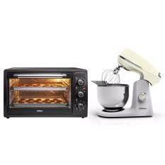 โปรโมชั่น Minimex ชุดเตาอบและเครื่องผสมอาหาร Set 48 Cream