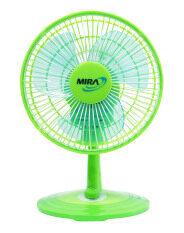 ซื้อ Mira พัดลมตั้งโต๊ะ 8 นิ้ว รุ่น M 28 สีเขียว Mira เป็นต้นฉบับ