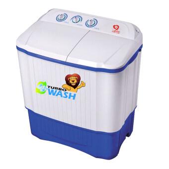 NEO เครื่องซักผ้าถังคู่ 8.5 kg. รุ่น SW -1050 ( ตัวเครื่องขาว ขอบสีฟ้า )