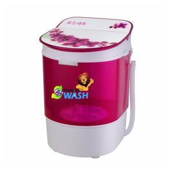 Neo MINI Wash SW-311เครื่องซักผ้าพร้อมตะกร้าปั่นหมาด สีม่วง