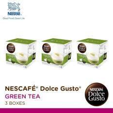 ราคา Nescafe Dolce Gusto Green Tea Latte แคปซูลกาแฟ จำนวน 1 แพ็ค รวม 3 กล่อง กล่องละ 16 แคปซูล Nescafe Dolce Gusto สมุทรปราการ