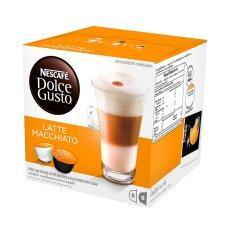 ราคา Nescafe Dolce Gusto Latte Macchiato แคปซูลกาแฟ จำนวน 1 กล่อง 16 แคปซูล ใหม่
