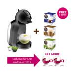 ราคา Nescafe Dolce Gusto เครื่องทำกาแฟแคปซูล รุ่น Minime Black ฟรี แคปซูล 3 กล่องและแก้ว 2 ใบ Nescafe Dolce Gusto เป็นต้นฉบับ