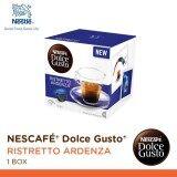 ขาย Nescafe Dolce Gusto Ristretto Ardenza แคปซูลกาแฟ จำนวน 1 กล่อง 16 แคปซูล ไทย