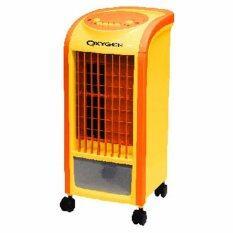 ขาย Oxygen พัดลมไอเย็น รุ่น Av 513 สีส้ม แถมฟรี Cooling Pack 2 ชิ้น Orange Oxygen เป็นต้นฉบับ