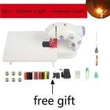 ซื้อ Portable Mini 4In1 Sewing Machine Home Electrical 4In1 Sewing Machine With 33 Pieces Of Gifts And A Expansion Board Intl ออนไลน์