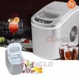 ราคา Portable Mini Ice Maker Ice Cube Machine Countertop Touch Control 50Kg Once Ice Maker Machine For Home And Bar Office ใหม่