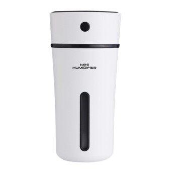 Portable USB Mini Cup Shape Humidifier Car Home Air Diffuser Purifier(Black) - intl