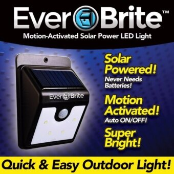 โคมไฟโซล่าเซล ตรวจจับความเคลื่อนไหว เปิด/ปิดไฟอัตโนมัติ ชาร์จไฟด้วยพลังงานแสงอาทิตย์