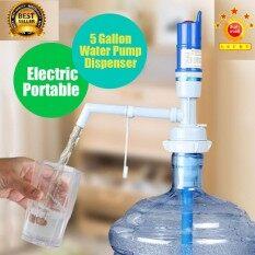 เครื่องปั๊มน้ำดื่มอัตโนมัติ ที่ปั๊มน้ำถัง ที่สูบน้ำ ปรับความยาวได้ ทำจากวัสดุคุณภาพ ไม่มีสารพิษ สะอาดและอนามัย.