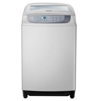 Samsung เครื่องซักผ้าฝาบน ขนาด 10 Kg. รุ่น WA10F5S3QRY/ST (Gray)