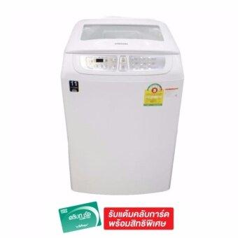 Samsung เครื่องซักผ้าฝาบน ความจุ 13 กก. รุ่น WA13F7S5QWW (สีขาว)