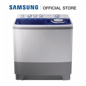 Samsung เครื่องซักผ้าถังคู่ 14 กก. รุ่น WT16J8LEC/XST