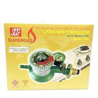 SCG  หัวปรับแก๊ส แรงดันต่ำ แบบปลอดภัย มีมาตรวัดความดัน ตั้งเวลาได้ R-500