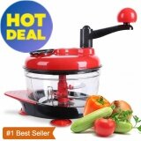 ขาย Sdp Hand Powered Food Processor Baby Multi Vegetable Chopper With Suction Base And Water Throw Off Basket Meat Grinder Fast Salsa Maker Food Mixer Blender To Chop Meat Fruits Vegetables Nuts Herbs Onions Garlics Intl ถูก ใน จีน