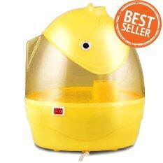 ซื้อ Shop108 เครื่องพ่นควันเพื่มความชื้นในอากาศ รูปปลาโลมา รุ่น Gl 6686 Yellow ออนไลน์ ถูก