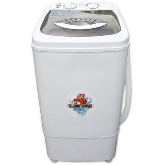 SILA TIGER FW855เครื่องซักผ้าขนาด 6.5 Kg. (สีขาว)