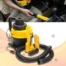 ขาย Sinlin เครื่องดูดฝุ่นรถยนต์ อเนกประสงค์ เครื่องดูดฝุ่นในบ้าน กระทัดรัด Car Vacuum Cleaner รุ่น Cvc802 Black Yellow ใหม่