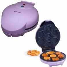 smarthome เครื่องทำวาฟเฟิล ขนมไข่ แพนเค้ก ลายการ์ตูน รุ่น sm-Wf01 .