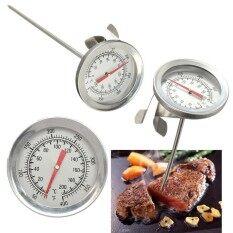เตาอบเหล็กสเตนเลสทำอาหารบาร์บีคิวเครื่องวัดอุณหภูมิอาหารเครื่องวัดเนื้อสัตว์ 200 °c-นานาชาติ By Teamwin.