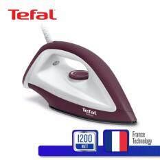 ราคา Tefal เตารีดแห้ง กำลังไฟ 1200 วัตต์ รุ่น Fs2622T0 Chocolate Tefal ใหม่