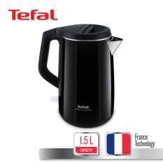 ราคา Tefal กาต้มน้ำไฟฟ้า กำลังไฟ 2400 วัตต์ ขนาดความจุ 1 5 ลิตร รุ่น Safe To Touch Ko370866 Black ใหม่ล่าสุด