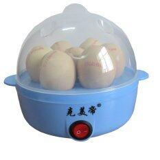 ซื้อ Tmall Electric Egg Boiler Hot Multi Function Electric Boiler Stainless Steel Steamer Cooking Tools Kitchen รุ่น Egg Cooker เครื่องต้มไข่ไฟฟ้า อเนกประสงค์ Blue ออนไลน์ ถูก