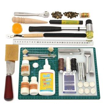 Tools Leather Craft Tool Kit Leather Hand Sewing Tool Set Professional Product - Intl