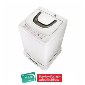 Toshiba เครื่องซักผ้าฝาบน ความจุ 6.5 Kg. รุ่น AW-A750STWG - White