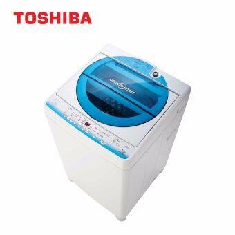 Toshiba เครื่องซักผ้าฝาบน ความจุ 8.0 กก. รุ่น AW-E900LT(WB)
